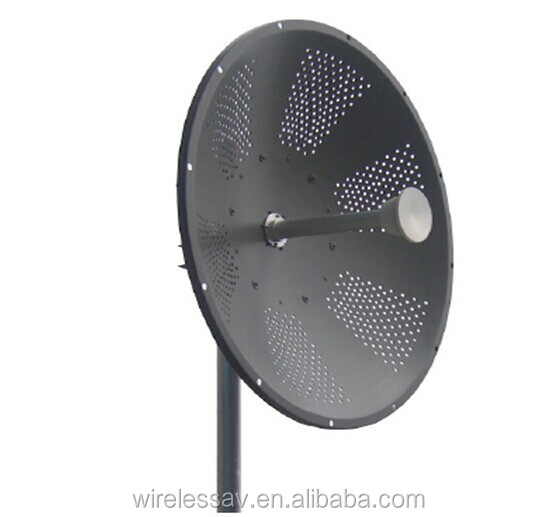 High Gain 5.2 5.8G 32dBi Double polarization parabolic antenna