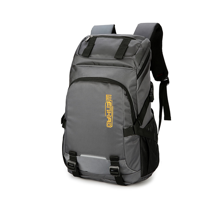 40L lightweight nylon custom brands fashion school bag man back pack for camping