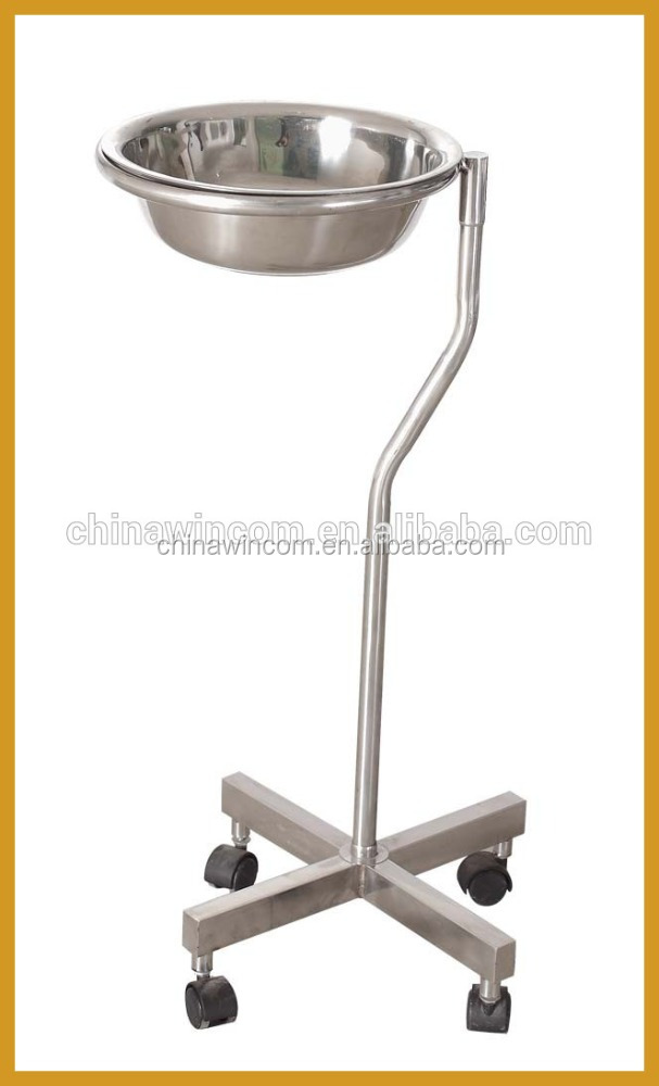 stainless steel wash basin stand for hospital