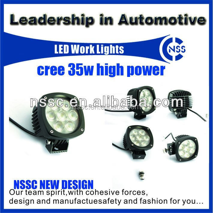 NSSC 2015 high power work lamp for SUV/Off road/ Heavy duty/Truck ORV make in China
