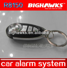 chip of tracking for dogs BIGHAWKS CA702-8150 remote control one way car alarm security system