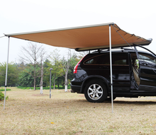 Retractable Waterproof Roof Tent 4wd Car Side Rooftop Awning in different size