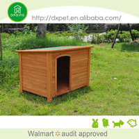 Best quality easy clean fir wood large dog kennel