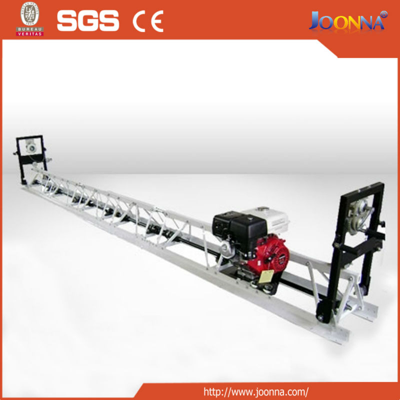JN/TS-6001 vibrating beam concrete vibratory truss screed