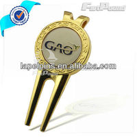China factory Divot Repair Tool With Ball Marker with customer logo