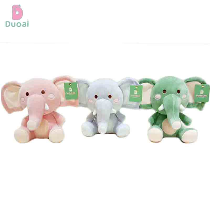 New Design Hot Selling Lightweight Cute Stuffed Animal Small Elephant Toy Doll