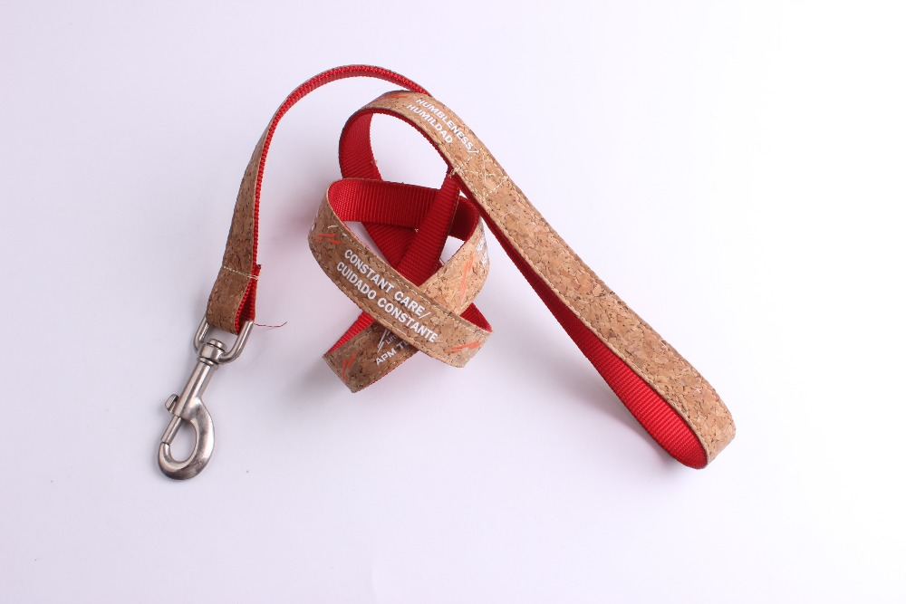 Custom printing decorations pu leather personalized dog leash 1 ""