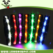 Cute Designer Dog Collar Factory for Cheap Waterproof LED Dog Collar with Glow In The Dark Light