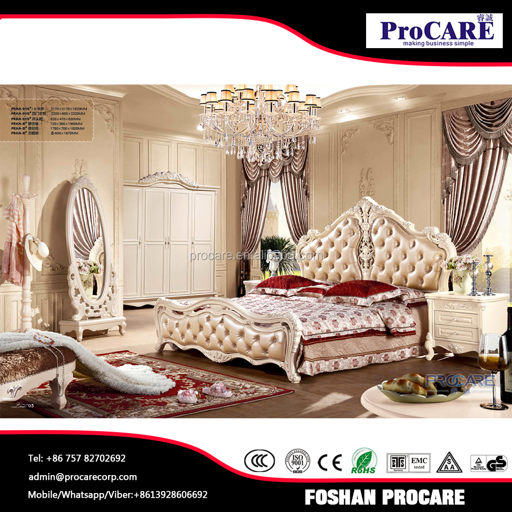 High quality luxury bedroom furniture prices for villas for High quality bedroom furniture