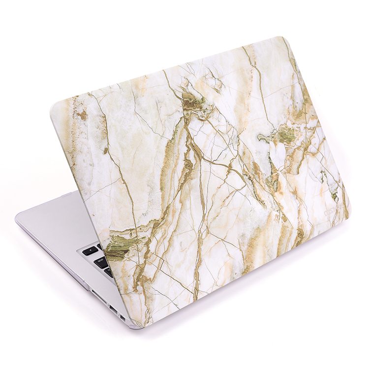 Customized popular new marble laptop hard case cover for Apple Macbook Pro 13
