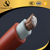 manufaturing fatory colored 50 sq mm orange rubber welding leads cable