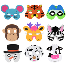 EVA cartoon animal mask animation film theme mask Cosplay children party dress up props