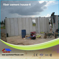 easy construction prefab houses be built with lightweight wall panel