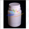 empty white 150g medicine bottle anti-counterfeited cap plastic package tablet bottles PE capsule