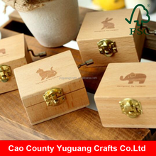 Yuguang Crafts Beech Wood Wooden Music Box