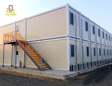Steel structure container shelter house prefab modular home