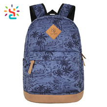 School bag custom logo backpack mens purple arte rucksack Promotional Cheap cute girl women knapsack free size and color