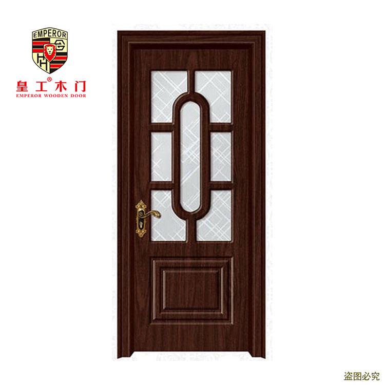 European Standard Italy style single leaf glass door