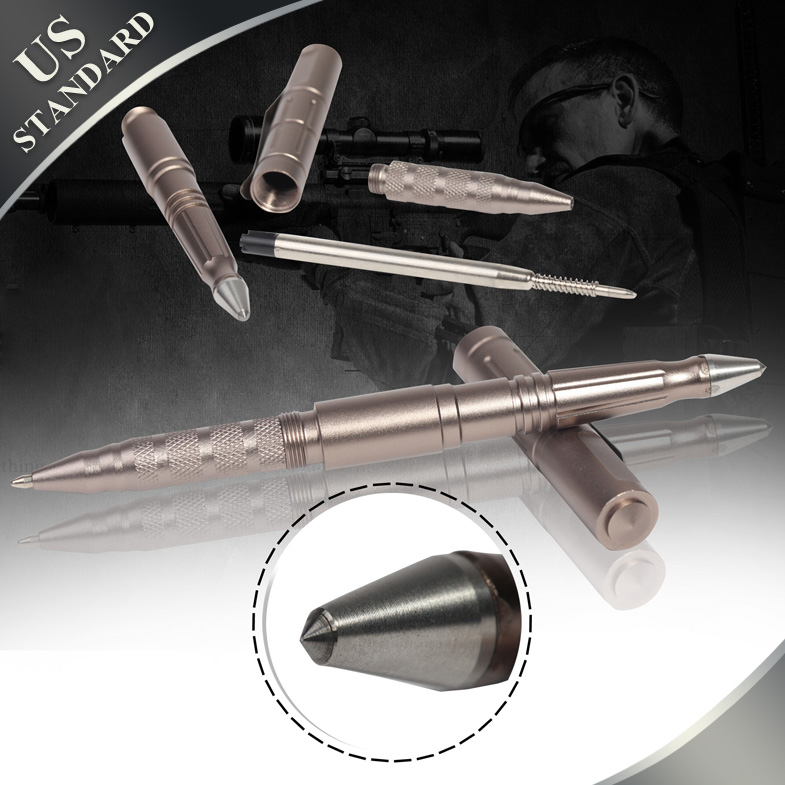 Both CIVIL & MILITARY Office Pen ,tactical knife,Business Office Pen ,Outdoor Self-defense Emergency Equipment Ultra-high Hard