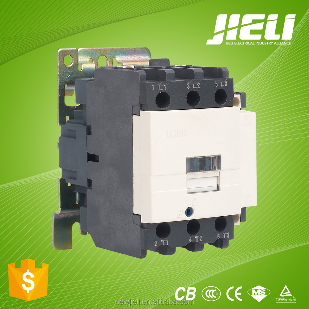 Free sample LC1 new types of 3 phase 9A 12A 18A 25A 32A 40A 65A 80A 95A AC magnetic Contactor 220V 380V
