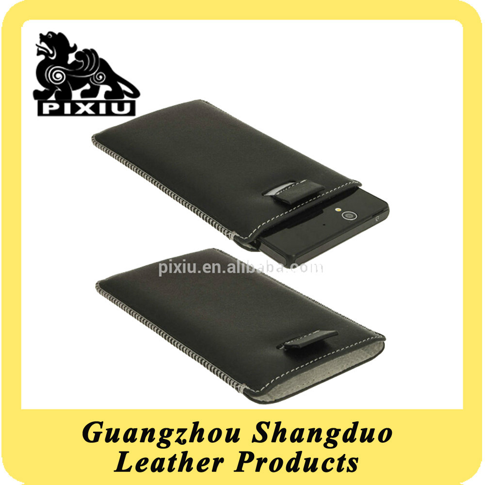 Exquisite Custom Genuine Leather Phone Cover Wholesale