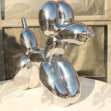 Popular Stainless Steel Sculpture Balloon Dog for Art Collection VSF-004