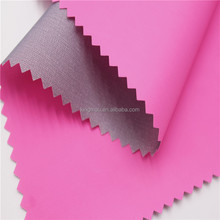 20D Half Gloss Waterproof silicone Vertical Bar Nylon Coated Fabric