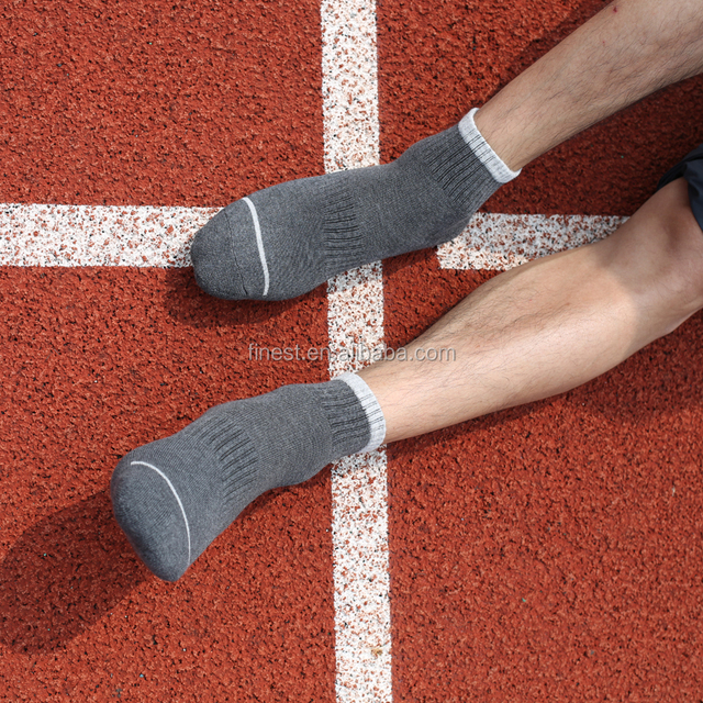 men's sporty half terry sock