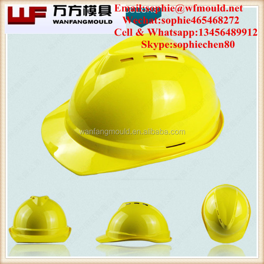 China alli baba com supplier produce plastic injection safety helmet mould for sale