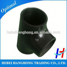 Trade Assurance Supplier sa234 wpb carbon steel equal tee pipe fittings