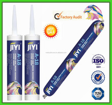 Silicone sealant for sealing and adhering marble, granite, brick and roof tile