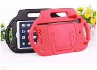 3 handle EVA foam shockproof tablet case for ipad mini from china for kids case, case for tablet with stand and holder