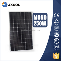 high efficiency cheap price 250w mono solar panel for solar power system home