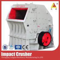 Strong impact crusher advanced small concrete block crusher