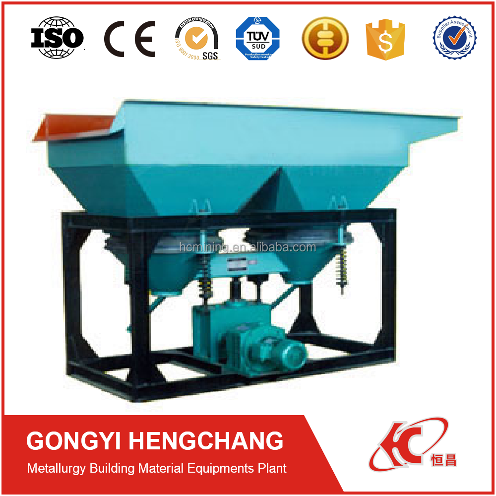Ore beneficiation equipment jig machine for gold refining and mineral concentration