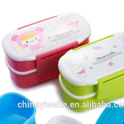 Promotional Plastic Lunch Box For Kids