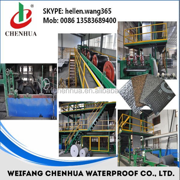 Bitumen membrane waterproof making machine Automatic -- China factory direct sales