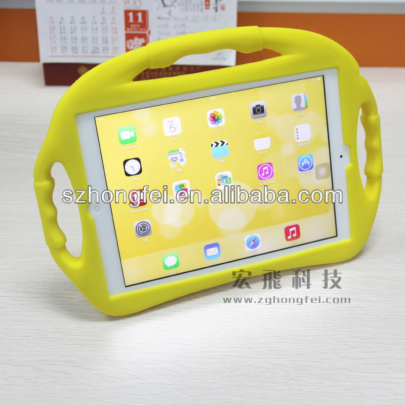 2013 newset design Convenient cute soft silicone case for ipad Air