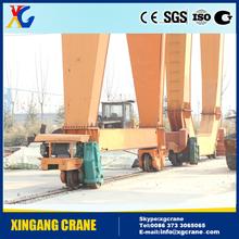 Hot sale good quality outdoor portal double beam girder 10t 30t whole new box girderharbor gantry crane for sale