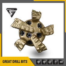 API 8 3/4 inch matrix body pdc drill bits &oil,water,gas and mining well drilling