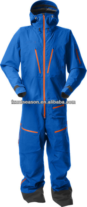 Blue ladies snow suit one piece snow suit