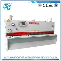 qc11y cnc guillotine hydraulic cutter machine for iron sheet