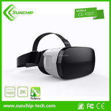 New design Andriod based system vr head set all in one