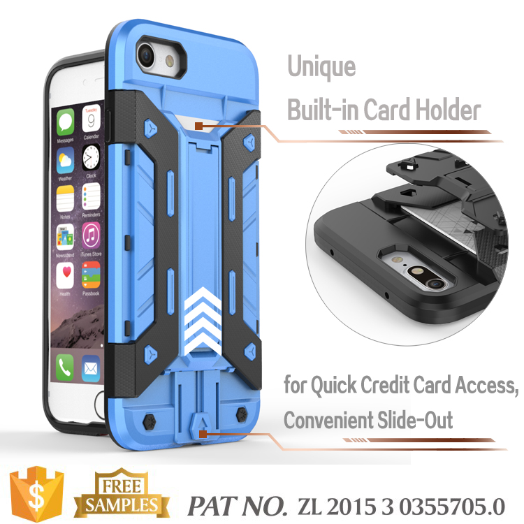 Kickstand card holder rugged rubber fancy mobile back covers