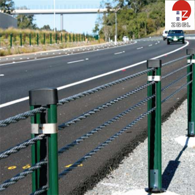 Wire Rope Fencing Barrier Innovative Highway Guardrail