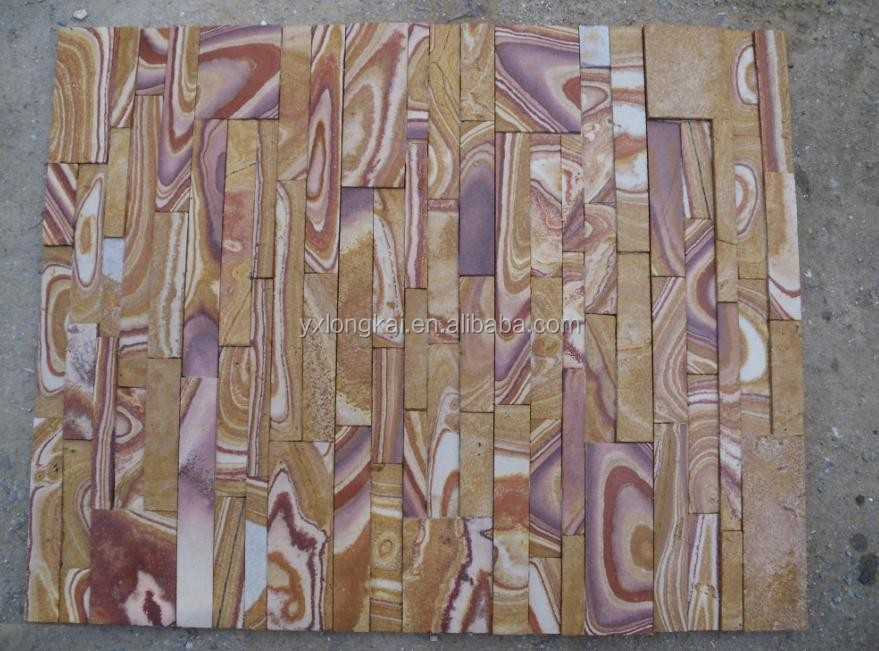 Beige Slate Culture Stone , decoration material for living room wall ,natural Slate Wall Tiles floor tiles roof tiles