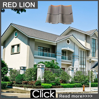nature glazed japanese roof tile for private villa