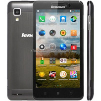wholesale 4000mAh 5.0 inch IPS Lenovo P780 3G Phablet Android 4.2.1 MTK6589 Quad Core double SIM business mobile phone