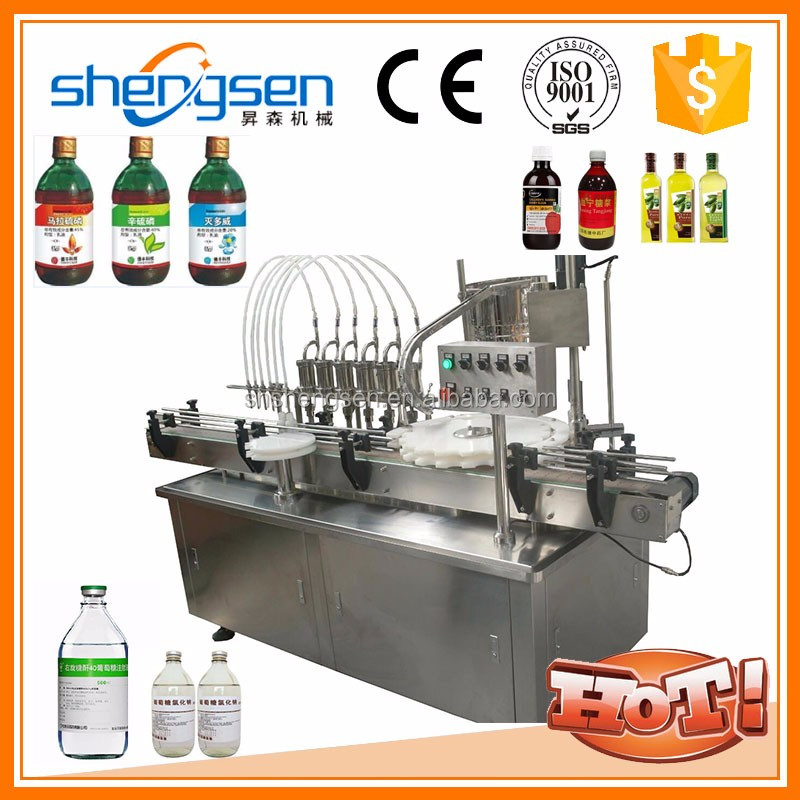 Labels Attached More Solid Liquid Syringe Filling Machine
