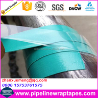 Elastic rubber tape for pipe vessel fileld joint anti corrosion